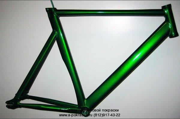 Велорама после порошковой покраски