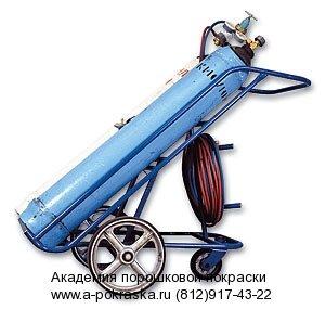 сварочный пост для газовой сварки на тележке