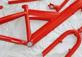 Полимерная порошковая окраска велорамм, моторам, велосипедов